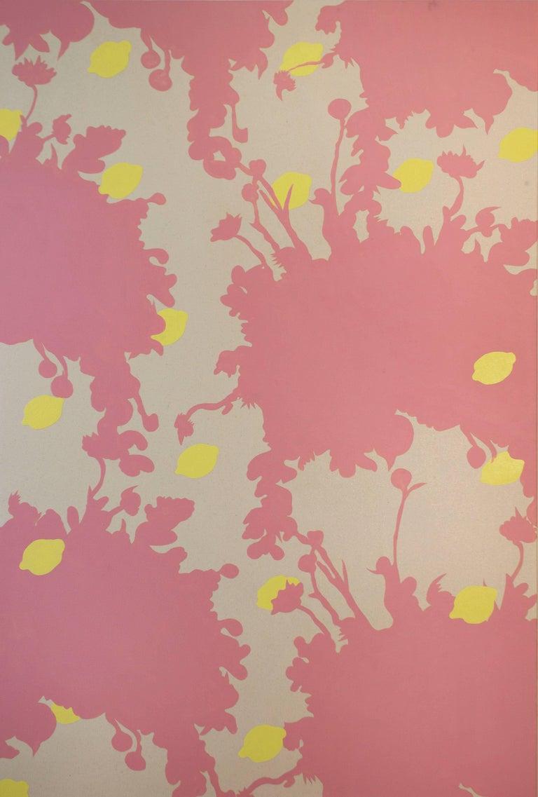 Wallpaper Series - Pink Flower Print, 2017