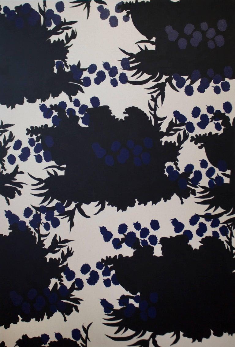 Wallpaper Series - Black Flower Print, 2017