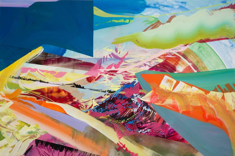 Accretion - Abstract Painting by Arden Bendler Browning