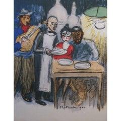 Kees van Dongen - Montmartre 1900 - Original Lithograph