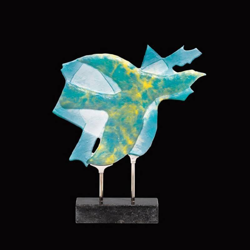 Georges Braque's - Daum Glass Sculpture - Céphalé