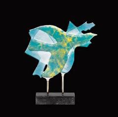 Georges Braque's - Daum Glass Sculpture - Céphalé