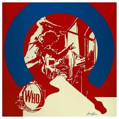 Ivan Messac - The Who - Original Lithography
