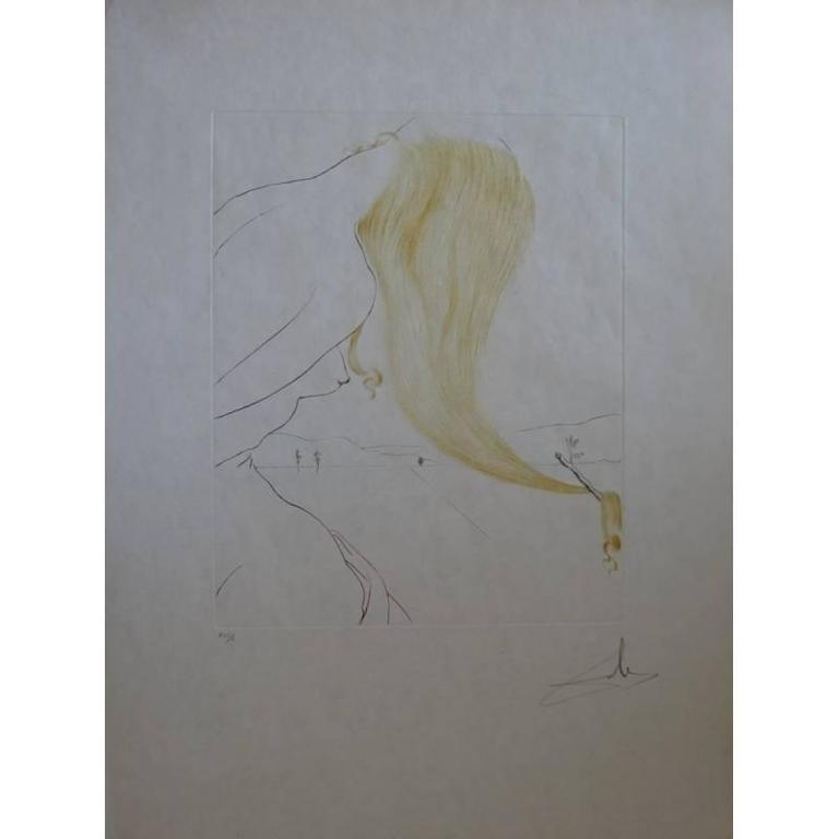 Salvador Dali - Golden Fleece - Original Signed Etching