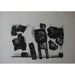 Witold K - Standing Man - Original Lithograph