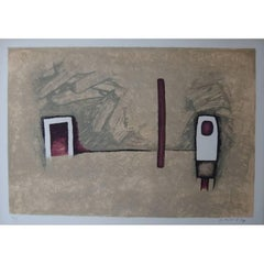 Witold K - The Door - Original Lithograph