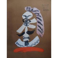 Pablo Picasso - Imaginary Portrait - Signed Beautiful Litograph