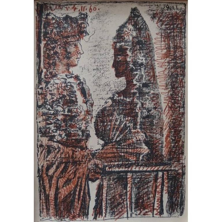 Pablo Picasso - Torero y Senorita - original Lithograph