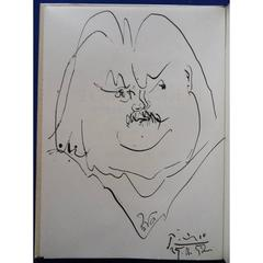 Pablo Picasso - Balzac - Beautiful Lithograph