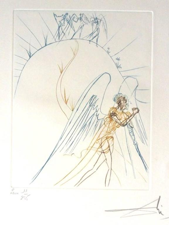 The Earth Paradise - Portfolio of 9 Hand Signed etchings - Salvador Dali