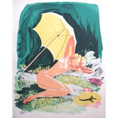 Domergue - The Little Star - Original Signed Lithograph