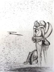 Salvador Dali - Suite of 31 Original Etchings - Maldoror