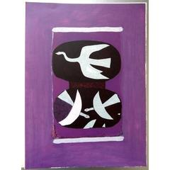 Homage to George Braque - Rare Portfolio - Picasso, Giacometti, Miro, Tal Coat..