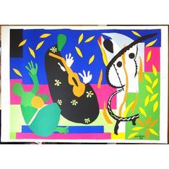 after Henri Matisse - King's Sadness