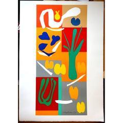 Original Lithograph - Henri Matisse - Vegetables