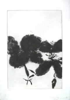 Zao Wou-Ki - Shakespeare Sonnets - Unique Hand-Signed 7 Etchings, 7 Bons A Tirer