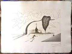 Salvador Dali - Aurelia - Rare Portfolio of 4 Large Hand-Signed Etchings