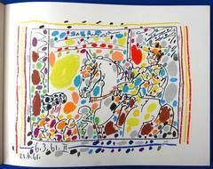 Pablo Picasso - Pablo Picasso - Toreros - 4 Original Lithographs