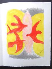 Georges Braque - Descent into hell - 4 Original Lithographs - Handsigned