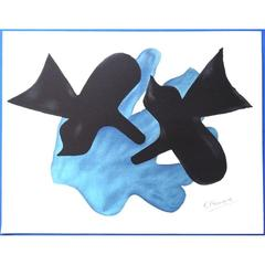 Georges Braque - Bird Couple - Original Lithograph