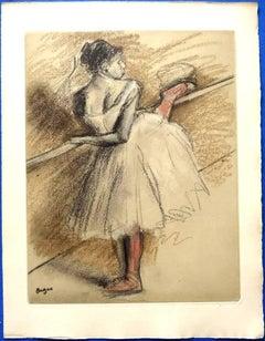 after Edgar Degas - Dance - Porfolio of 26 Etchings