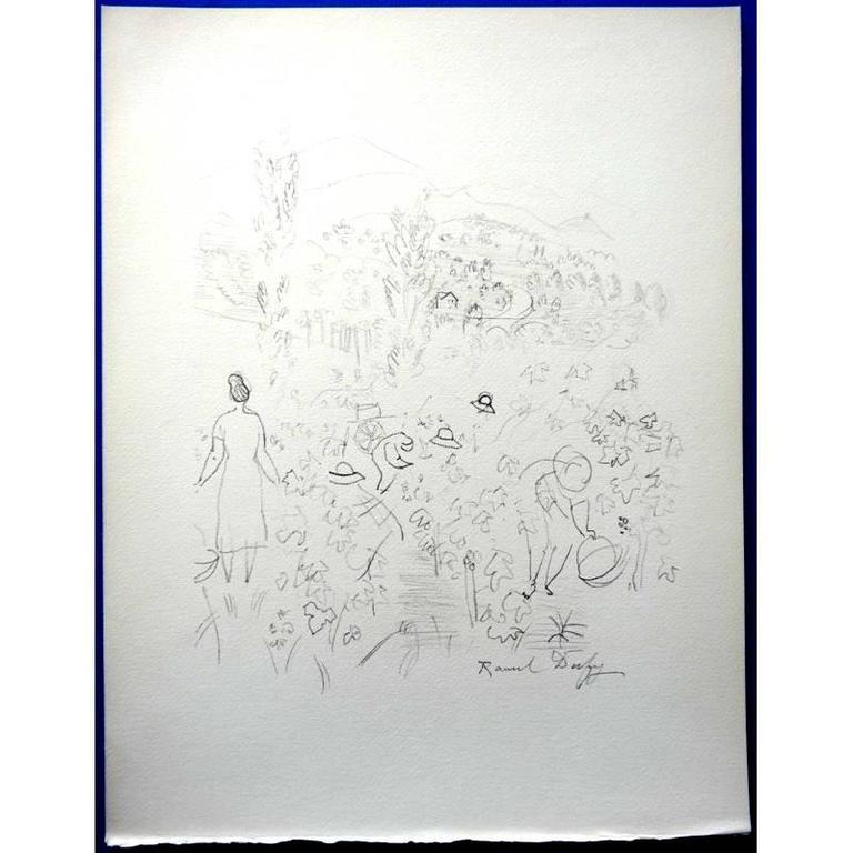 after Raoul Dufy - Harvest - Print by Raoul Dufy