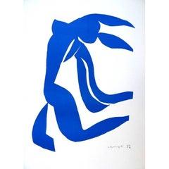 After Henri Matisse - Blue Freedom