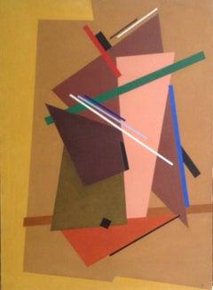 Youri Jeltov - Signed Oil on Canvas - Untitled