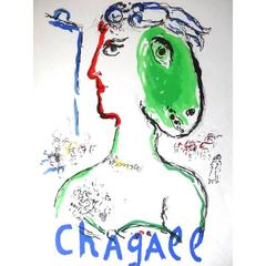 Marc Chagall - L'Artiste Phénix - 1970s Original Poster
