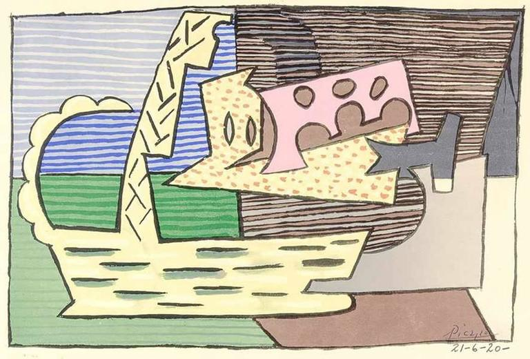 After Pablo Picasso - The Basket