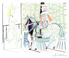 Pablo Picasso - The Human Comedy -  Lithograph