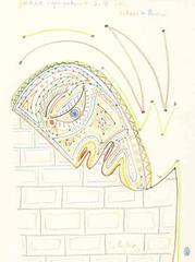 Jean Cocteau - S.M Isabeau de Bavicio's Portrait - Original Lithograph