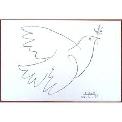 After Pablo Picasso  - Lithograph - The Peace Dove