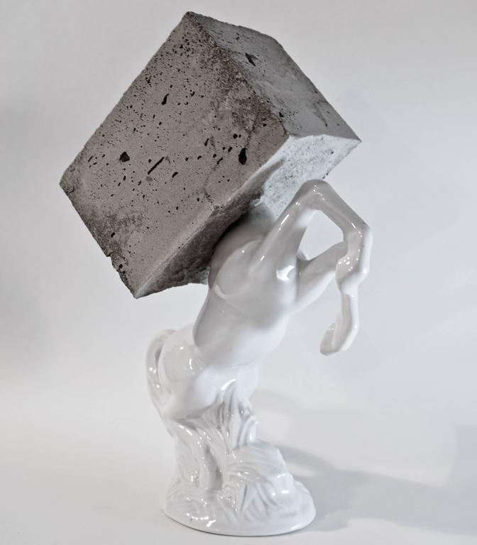 Becker Schmitz - Pegasus - Unique Signed Sculpture
