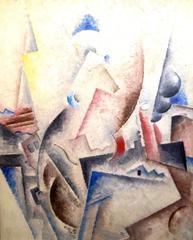 Robert Marc - Untitled - Oil on Canvas