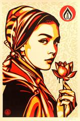 Shepard Fairey - Natural Spring - Handsigned Lithograph