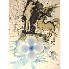 Salvador Dali - Homage to Cranach - Original HandSigned Etching