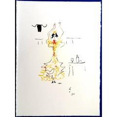 Jean Cocteau -  Carmen - Original Lithograph