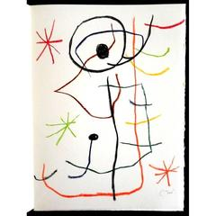 Joan Miró - Abstract Composition - Original Signed Lithograph