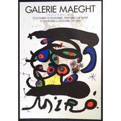 Joan Miró - Original Poster - Galerie Maeght