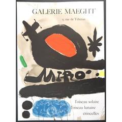 Joan Miró - Sun Bird - Original Poster