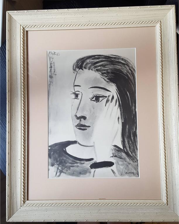 After Pablo Picasso - Woman Portrait - Print by (after) Pablo Picasso