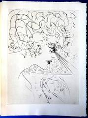 Salvador Dali - Venus in Furs - Handsigned Illustrated with 20 original etchings