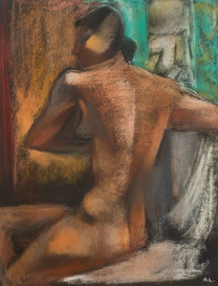 André Lhote - Original Signed Pastel - Woman