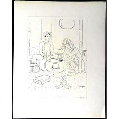 Léonard Foujita - About Addiction - 16 Original Lithographs