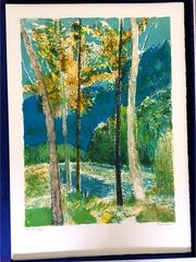 Guy Bardone - Original Handsigned Lithograph - Ecole de Paris