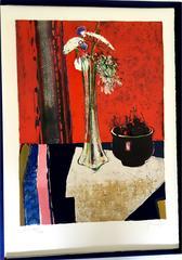René Lenig  - Original Handsigned Lithograph - Ecole de Paris