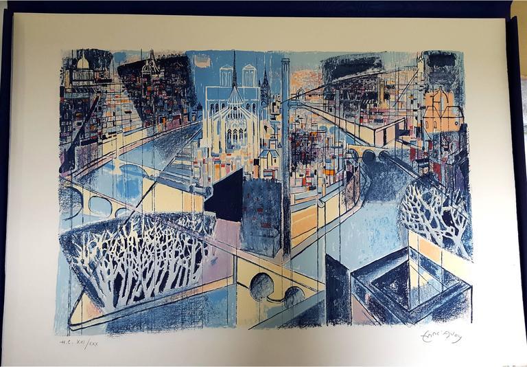 Édouard Georges Mac-Avoy - Original Handsigned Lithograph - Ecole de Paris