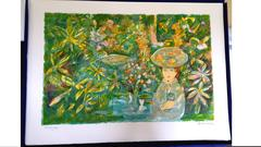 Emilio Grau Sala - Original Handsigned Lithograph - Ecole de Paris
