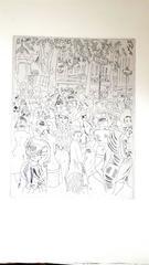 Chas Laborde - Paris - Capucine's Boulevard - Original Etching